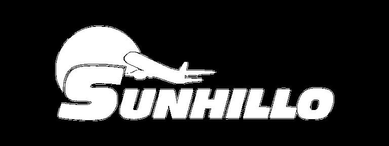 Sunhillo logo white