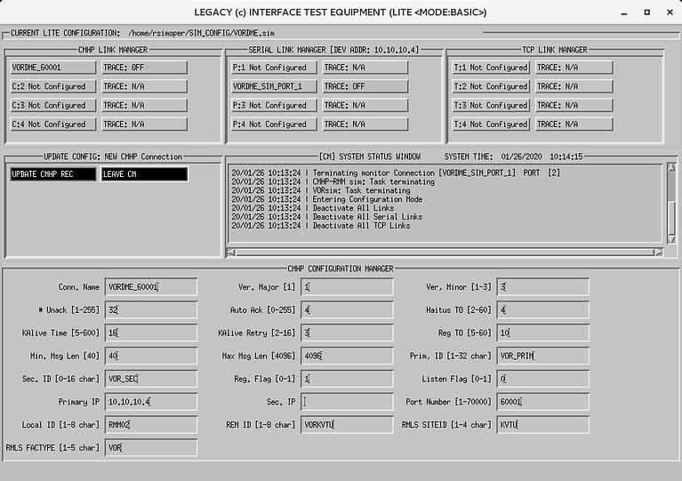 LITE interface